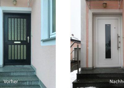 Erneuerung Hauseingangstür